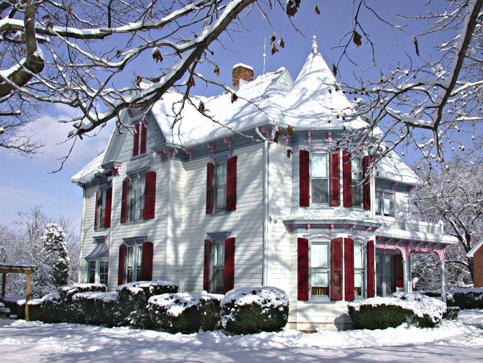 بيت من ثلج ، اروع المنازل الثلجية لقطات